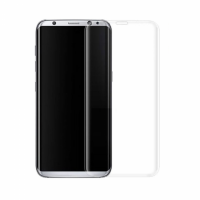 Стъклен протектор за целия екран, No brand, За Samsung Galaxy S8, 0.3mm, Прозрачен